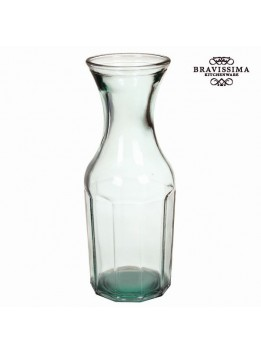 Bouteille en Verre Recyclé Transparent - Collection Pure Crystal Kitchen by Bravissima Kitchen