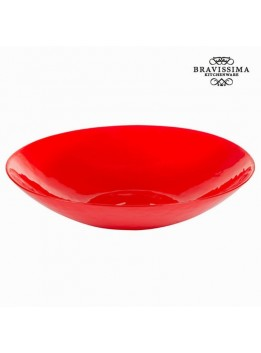 Plat en verre rouge - Collection Crystal Colours Kitchen by Bravissima Kitchen