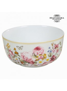 Bol en porcelaine bloom white - Collection Kitchen's Deco by Bravissima Kitchen
