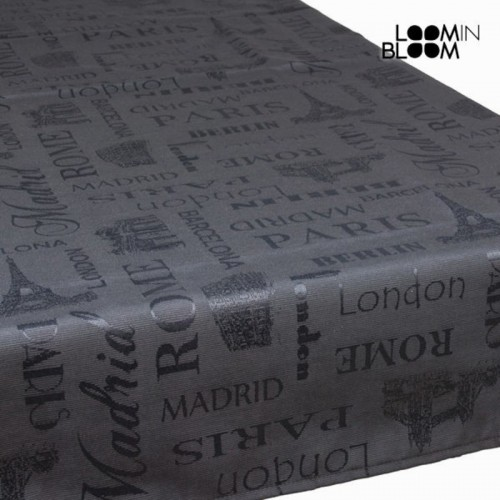 Nappe londres anthracite - Collection Cities by Loomin Bloom