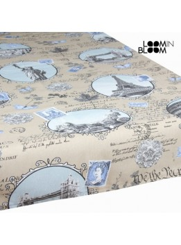 Nappe motif villes by Loomin Bloom