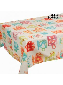Nappe tasses couleurs by Loomin Bloom